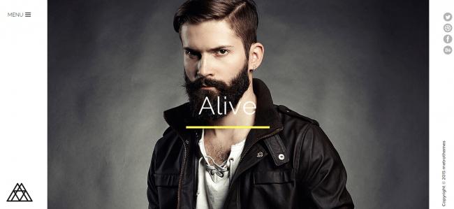 Alive theme