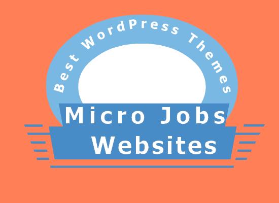 micro job website themes