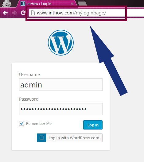 Rename wp-login.php Page