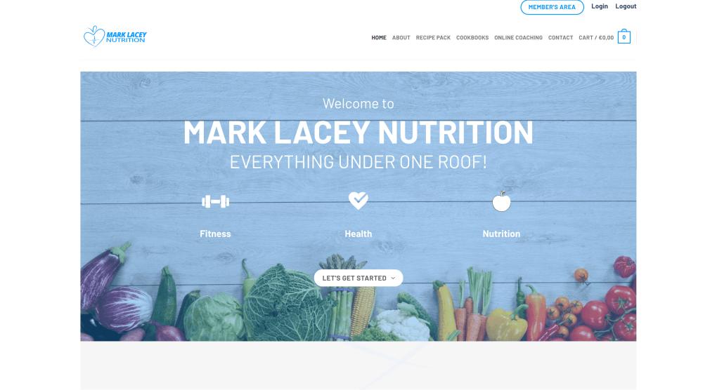 mark lacey websiste