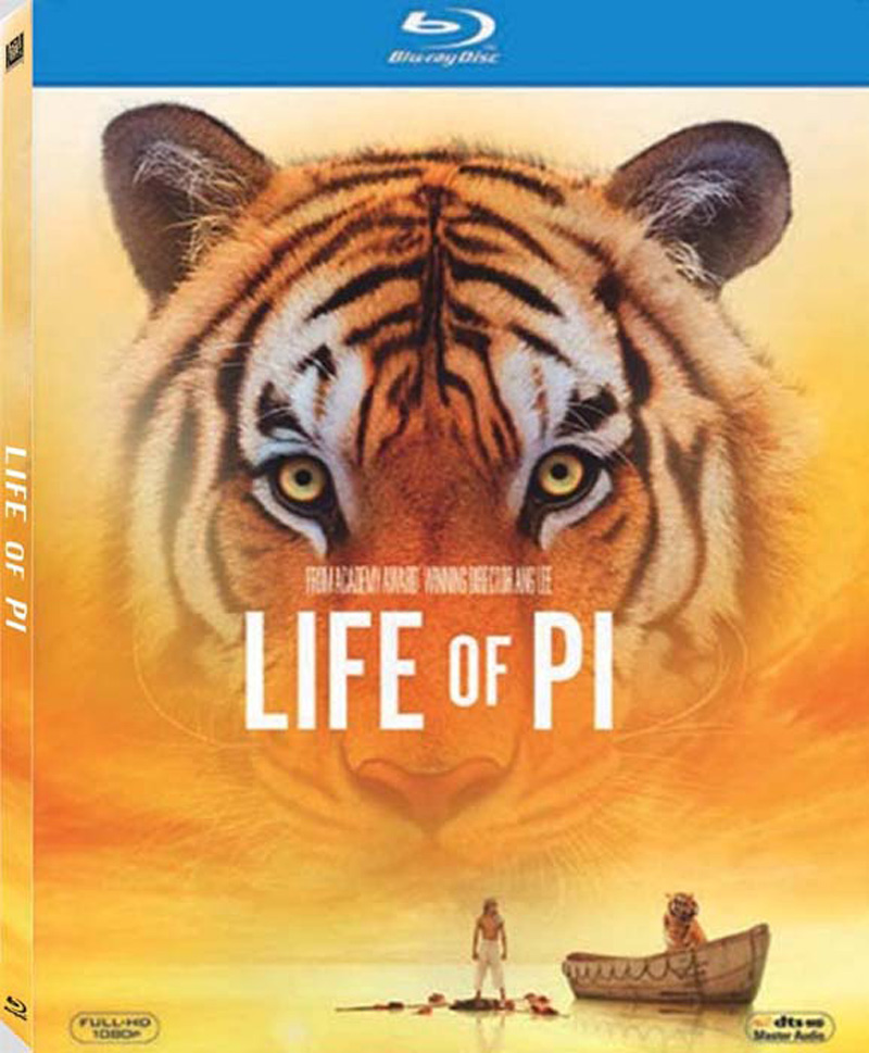 English Movie Life of Pi Bluray