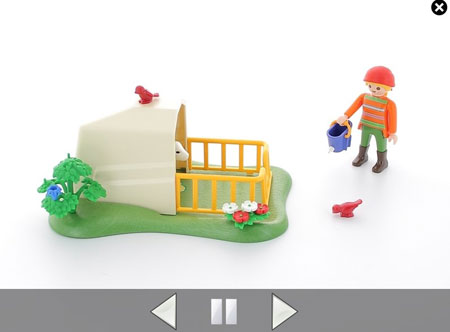 animation multi vues playmobil