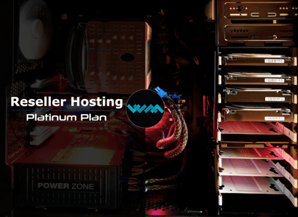 WM Host reseller hosting platinum plan