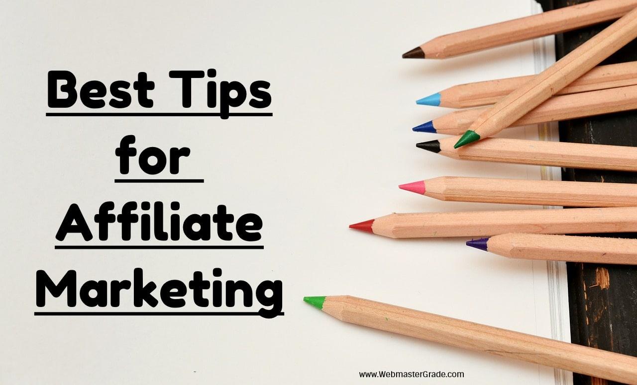 Kết quả hình ảnh cho Best Tips for Affiliate Marketers