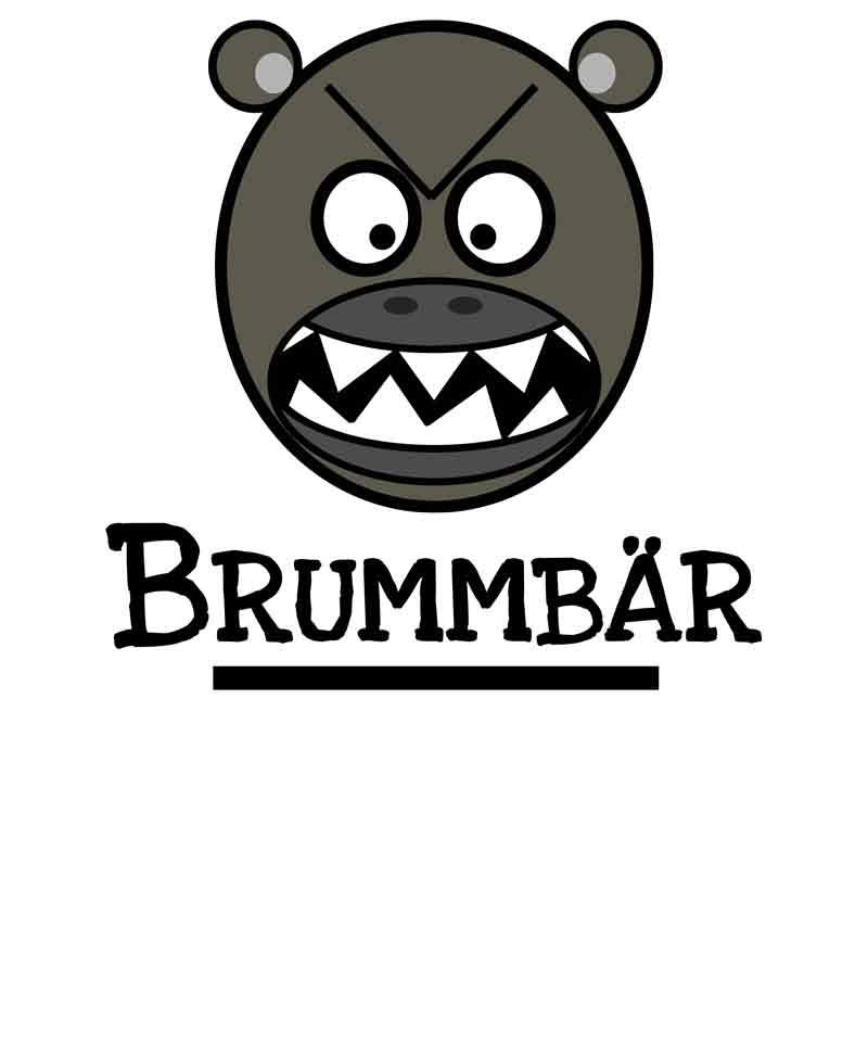 Brummbär-Design