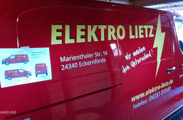 Fahrzeugbeschriftung Eckernfoerde