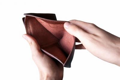 празен портфейл