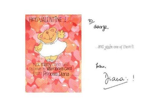 автограф на лейди Даяна