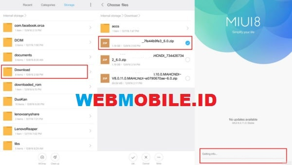 cara update miui 10 global stable redmi note 5 pro