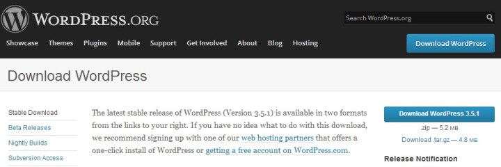 Find Installing WordPress Tough