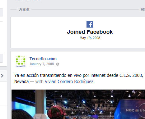 Tecnetico Joined Facebook