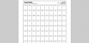 Yourfonts Template