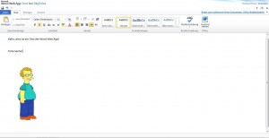 Word App in SkyDrive