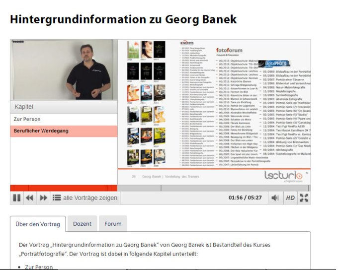 Screenshot Lecturio Kurs