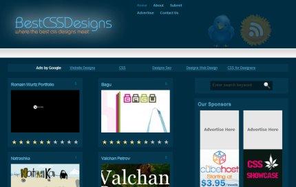 bestcssdesigns homepage