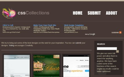 csscollections homepage