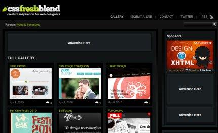cssfreshblend homepage