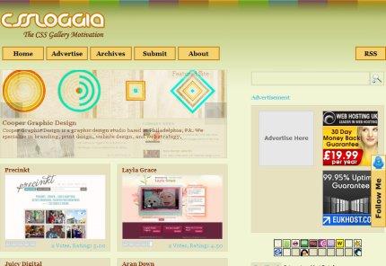 cssloggia homepage