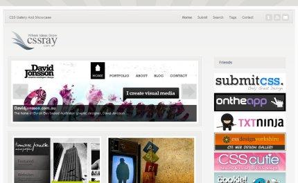 cssray homepage