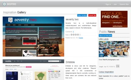 insp-ire homepage