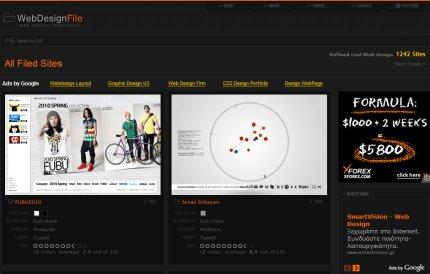 webdesignfile homepage