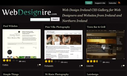 webdesignire homepage