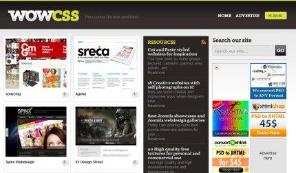 wowcss homepage