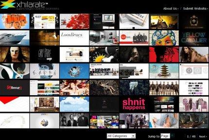 xhilarate homepage