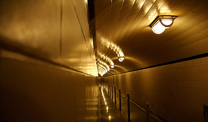 Bowels of Hoover Dam