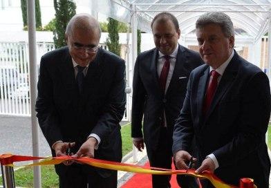 Претседателот Иванов свечено ја отвори македонската Амбасада во Бразил