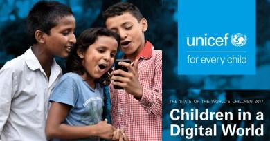 УНИЦЕФ: Дигиталниот свет да стане побезбеден за децата, истовремено зголемувајќи го пристапот до интернет за најзагрозените