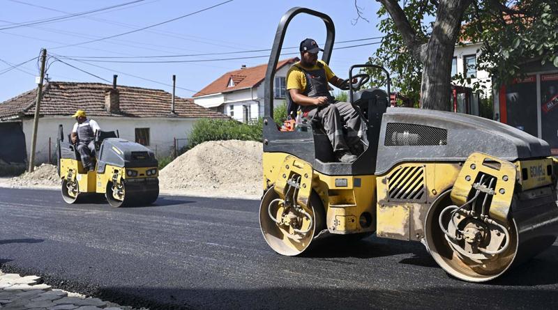 """Финишира реконструкцијата на улицата """"Абас Емин"""""""