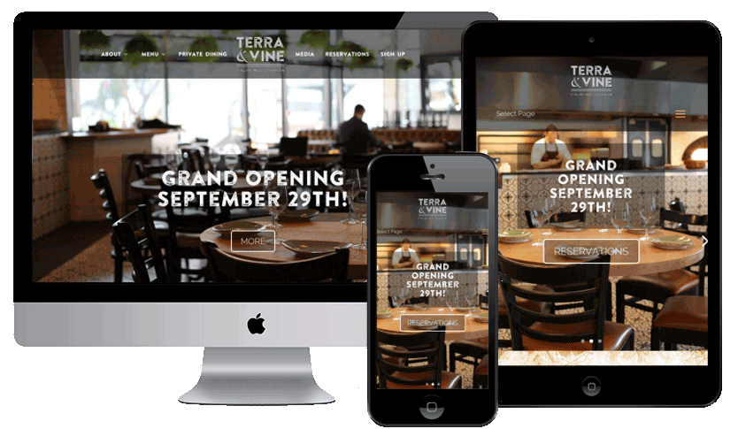 Restaurant Website by Webology Inc