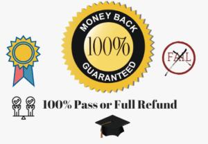 100% pass guarantee