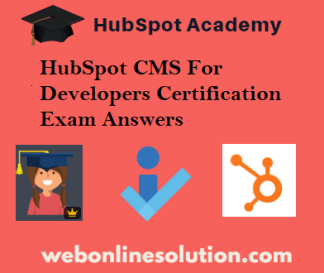 CMS For Developers Certification