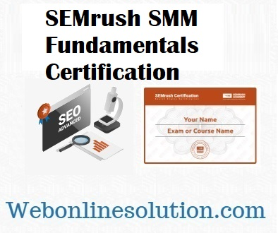 SMM Fundamentals Certification