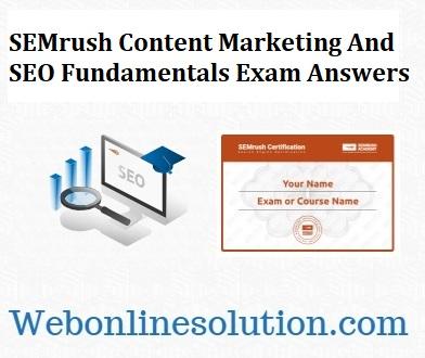 Content Marketing And SEO Fundamentals