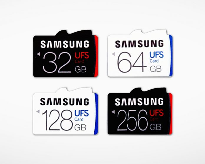Samsung Universal Flash Storage (UFS) Removable Memory