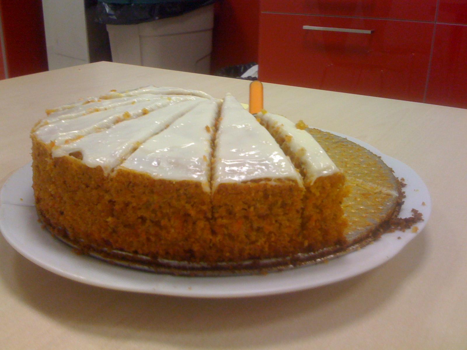 como hacer un pastel de zanahoria casero