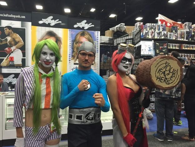 Aquabat, Joker, and Harley at SDCC 2015
