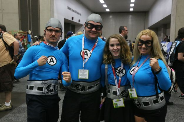 Aquabats friends! Photo by Kenneth Yeast