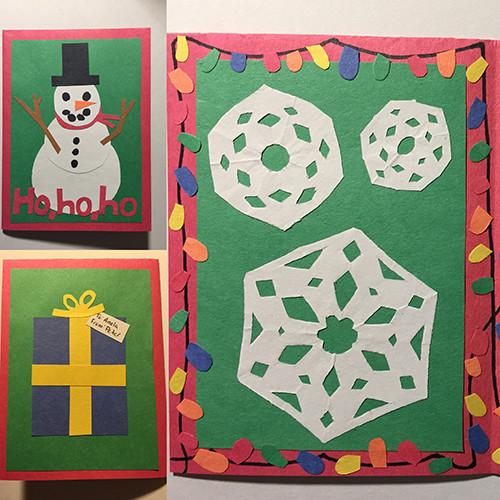 Christmas card for Anela