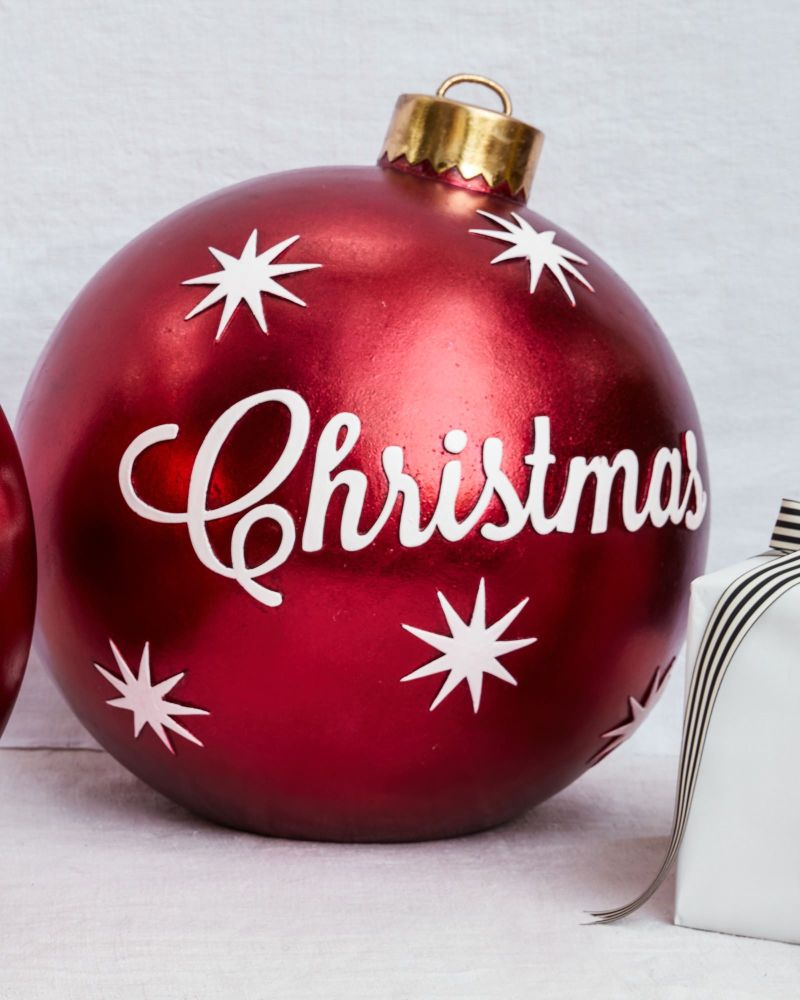 Merry Christmas Ornaments: Extra Large Outdoor Christmas Decorations