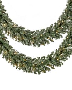 Clear LED Christmas Wreaths Garlands Amp Foliage Balsam Hill