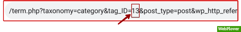find id in WordPress