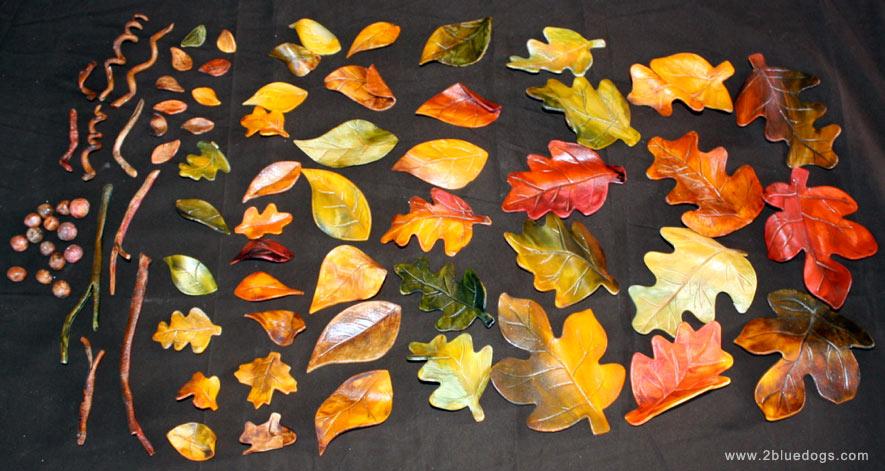Fall Leaves Wedding Cake Moxie Blue Creative