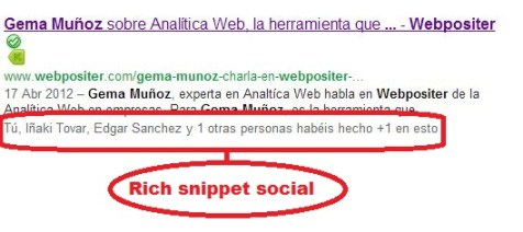 rich snippet social