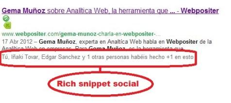 rich snippet social