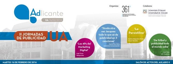 II Jornadas de Publicidad UA 2016