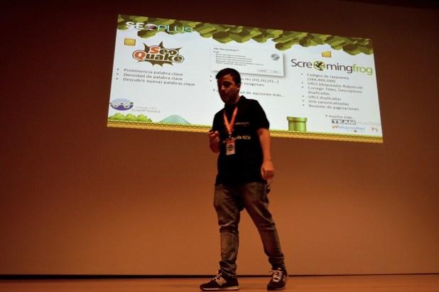 Joel Pérez en SEOPLUS 2016